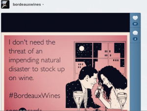Bordeaux Wine Hurricane Sandy